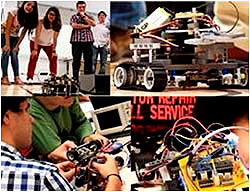 Controlling Mobile Robots by ROS